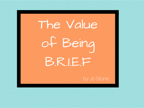 The Value of BRIEF Communication